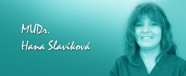 MUDr. Hana Slavíková